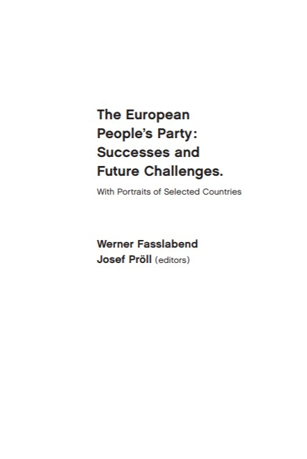 The European People's Party: Successes and Future Challenges