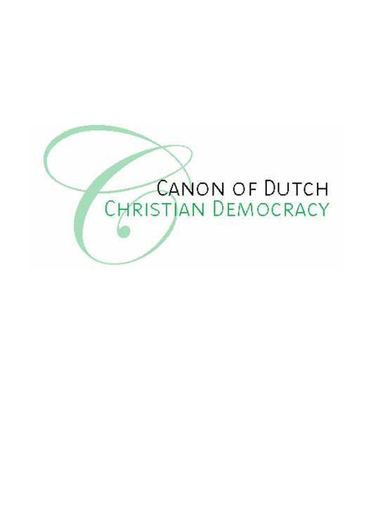 Canon of Dutch Christian Democracy