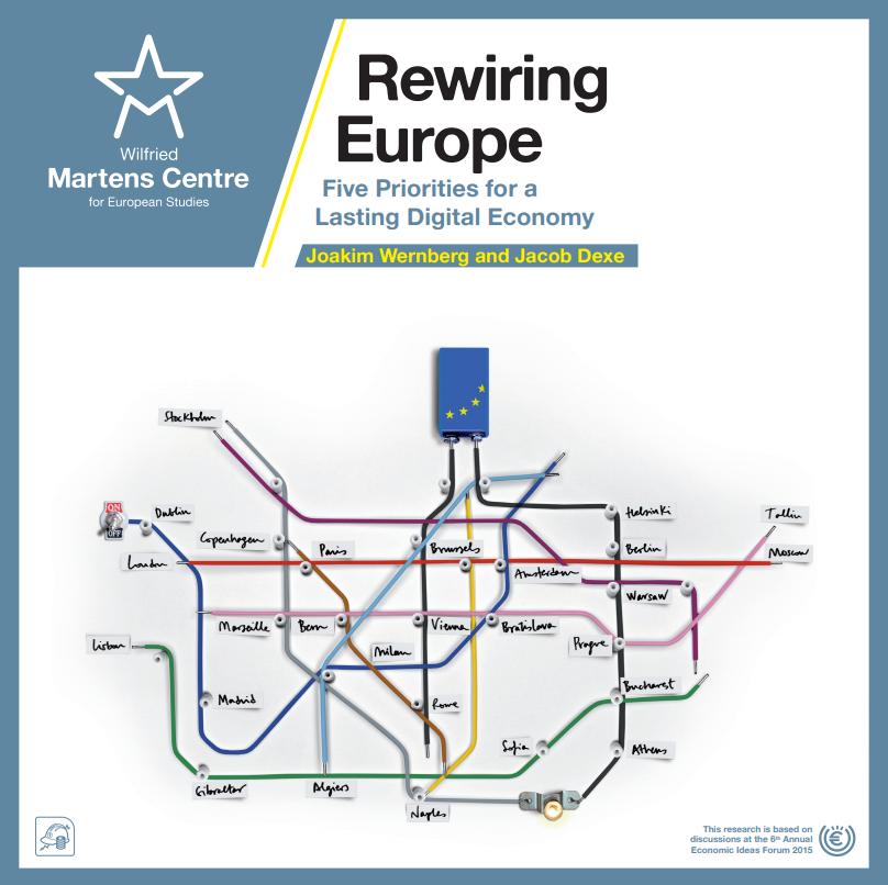 Rewiring Europe: Five Priorities for a Lasting Digital Economy