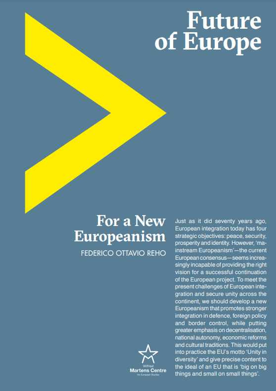 For a New Europeanism