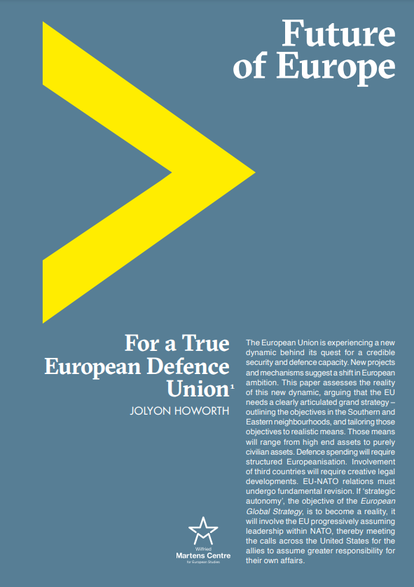 For a True European Defence Union