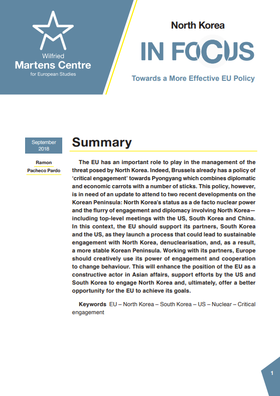 North Korea: Towards a More Effective EU Policy