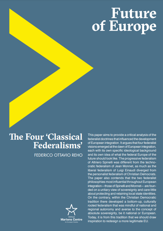 The Four 'Classical Federalisms'