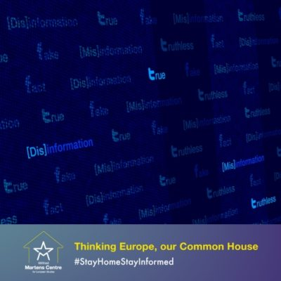 Online Event – Can the EU gear up against Covid-19 disinformation?