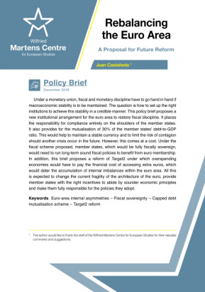 Rebalancing the Euro Area: A proposal for Future Reform
