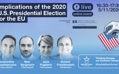 Online Event 'Implications of the 2020 U.S. Presidential Election for the EU'