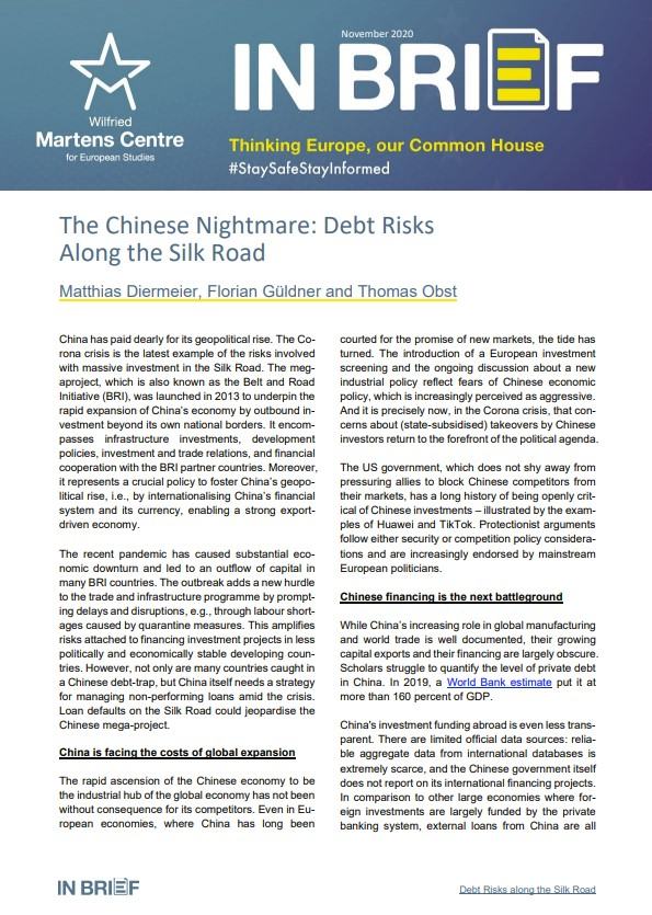 The Chinese Nightmare: Debt Risks Along the Silk Road