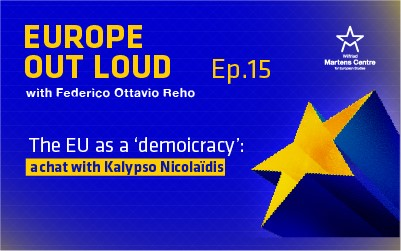 [Europe Out Loud] The EU as a 'demoicracy': a chat with Kalypso Nicolaïdis