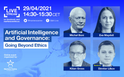 Artificial Intelligence and Governance: Going Beyond Ethics