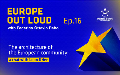 [Europe Out Loud]: The architecture of the European community: a chat with Leon Krier