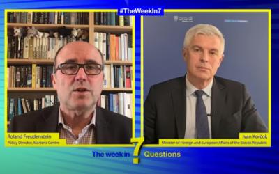 The Week in 7 Questions with Ivan Korčok