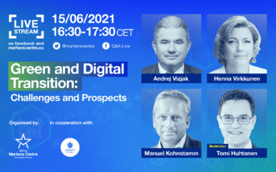 Green and Digital Transition: Challenges and Prospects