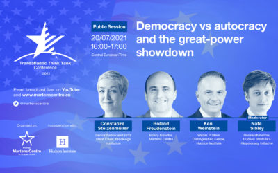 TTTC: Democracy vs autocracy and the great-power showdown