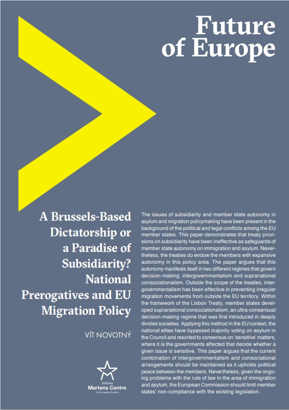 A Brussels-Based Dictatorship or a Paradise of Subsidiarity? National Prerogatives and EU Migration Policy