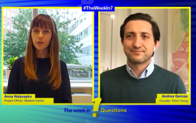 The Week in 7 Questions with Andrea Gerosa