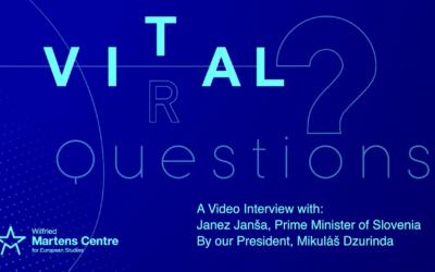 Video Vital Questions with Janez Janša and Mikuláš Dzurinda